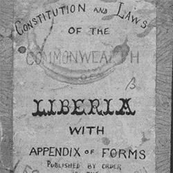 Digitized | Liberian Law